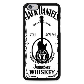 Jack Daniels White iPhone 6/6S Case