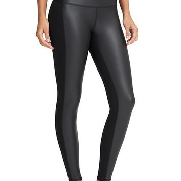 Athleta Womens High Rise Gleam Tight