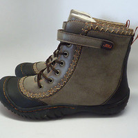 JBU Jambu Boot Size 9 Vegan New In Box Star Sami Brown Ankle NIB