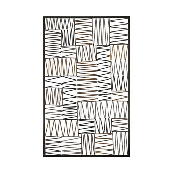 3200-006 Heavy Metal Wire Work Wall Panel