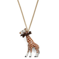 Giraffe Necklace by And Mary | Little Moose | Cute bags, gifts, toys, jewellery and accessories from independent designers and famous brands