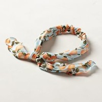 Fruit Vine Headscarf by Anthropologie Blue One Size Scarves