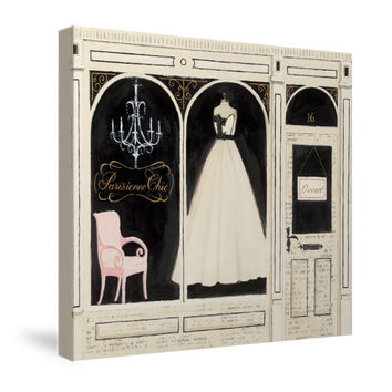 Parisienne Chic Canvas Wall Art