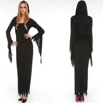 Witch Cosplay Anime Cosplay Apparel Holloween Costume [9220654148]