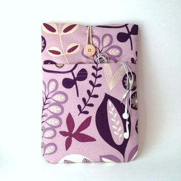 Purple Macbook Air Case 13 inch, Pro Retina 13 . 3 Padded Sleeve, Laptop Cover Lavender Floral Lilac Flowers Lavendar Violet Bag Nature Sac