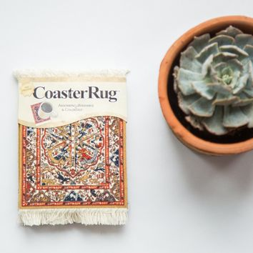 Persian Oriental Rug Coaster Set