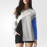 Adidas Women Top Sweater Pullover Sweatshirt
