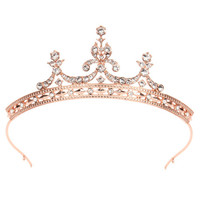 BETTY - Crystal tiara - Rose Gold | Womens | Ted Baker UK