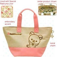 San-X Rilakkuma Tote Bag: Little Bear