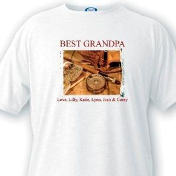 Fishing Memories Grandpa T-shirts