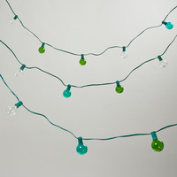 Seaside-Colored Bulb String Lights - World Market