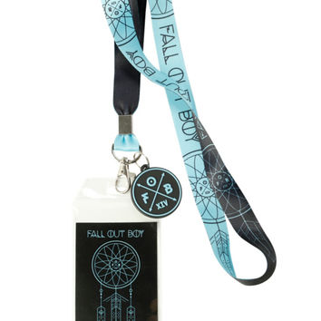 Fall Out Boy Dreamcatcher Lanyard