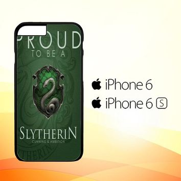 Proud To Be Slytherin F0574 iPhone 6|6S Case