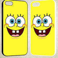 SpongeBob SquarePants Smile F0225 iPhone 4S 5S 5C 6 6Plus, iPod 4 5, LG G2 G3, Sony Z2 Case