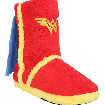 DC Comics Wonder Woman Slipper Boots | Hot Topic