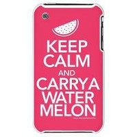 Keep Calm Carry a Watermelon iPhone 3G Hard Case	 Keep Calm Carry a Watermelon	 Dirty Dancing T-Shirts From Gold Label