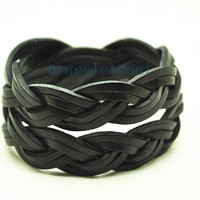 Wrap Bracelet Fashion Leather Bracelet Women Leather Jewelry Bangle Cuff Bracelet Men Leather Bracelet CR11