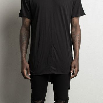 trail tee ii / black