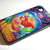 Ariel The Little Mermaid Disney- iPhone 4 Case, iPhone 4s Case ,iPhone 5 case  and Samsung galaxy s3 Hard Plastic Case