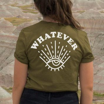 Whatever Back Print Tee