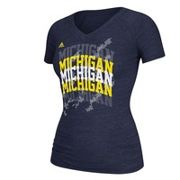 adidas Michigan Wolverines With Honors Tee