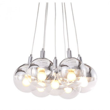 Time Ceiling Lamp Chrome