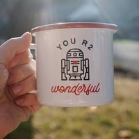 You R2 Wonderful Enamel Mug