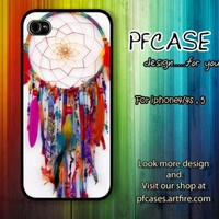 Dreamcatcher color style Case For Iphone 44s 5 Samsung S2S3S4 by pfcases12 on Zibbet