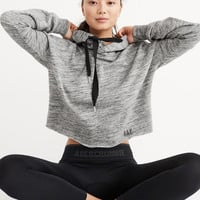 Womens Active Graphic Boxy Hoodie | Womens Tops | Abercrombie.com