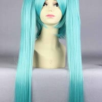 50 inches Miku Cosplay Wig Lolita Anime Miku Wig