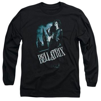 Harry Potter - Bellatrix Full Body Long Sleeve Adult 18/1 Officially Licensed Shirt