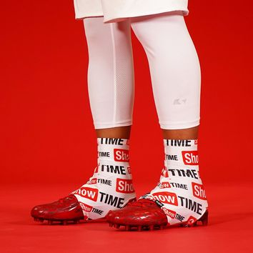 Showtime White Spats / Cleat Covers