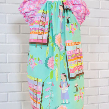 Princess and the Pea Dress 3T Ready To Ship Boutique Clothing By Lucky Lizzy's