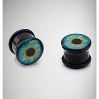 Green Eye Plug Set