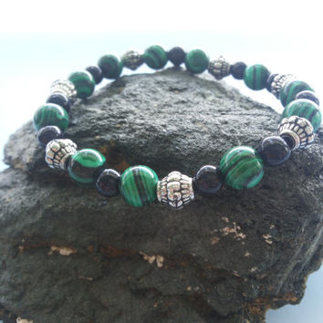 "BRACELET ""MOUNTAIN FOREST"" Beaded bracelet Bracelet for woman Friendship bracelet Gift for her wrap bracelet"