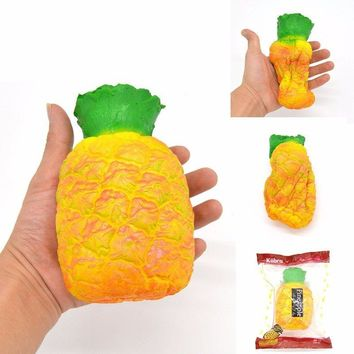 Pineapple Squishy Slow Rising Fruit Scented Squishy Girl Kids Fun Gift