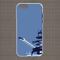 The Avengers Silhouette Minimalistic iPhone 4/4S, 5/5S, 5C Series Hard Plastic Case