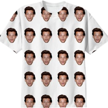 Louis Tomlinson Face Collage created by niallhoransgf | Print All Over Me