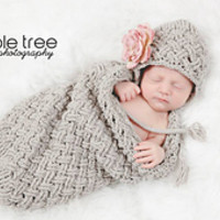 Diagonal Weave Baby Cocoon pattern by Crochet by Jennifer