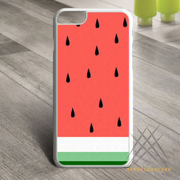 Watermelon Fruit Cute Pink and Green Funny Custom case for iPhone, iPod and iPad