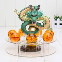 Dragon Ball Z Shenron (15cm) Action Figure Dragon + 7 Balls