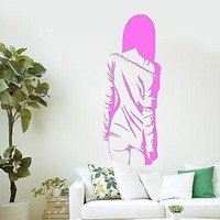 Wall Stickers Hot Sexy Girl Woman Butt Art Mural Vinyl Decal Unique Gift (ig2100)