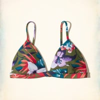 Girls Triangle Swim Top | Girls Swim | HollisterCo.com