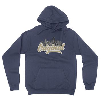 Original Seattle Hooded Sweatshirt