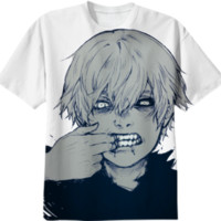 kaneki x teeth created by keana | Print All Over Me