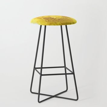 Manipura (solar plexus chakra) Bar Stool by duckyb