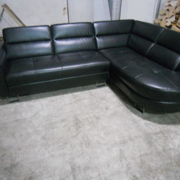 top graded italian genuine real leather sofa sectional living room sofa home furniture with high backrest 8268B