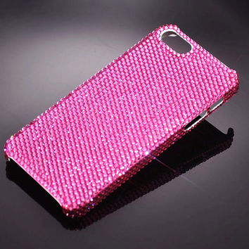 iPhone 5s and iPhone 5 Swarovski Elements Crystal Bling Case in Custom Colors