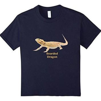 Bearded Dragon On A Tee Shirt