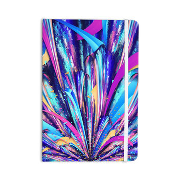 "Danny Ivan ""Enjoy Life"" Purple Blue Everything Notebook"